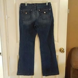 Banana republic Urban wide leg jeans size 8 VGC